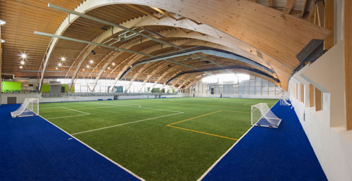 <br />Quebec's Chauveau<br />Soccer Complex Center